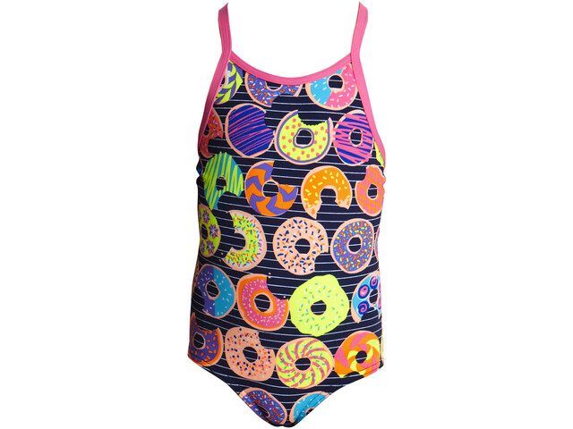 Funkita Printed One Piece Swimsuit Girls Dunking Donuts